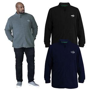 Duke-D555-Mens-Kingsize-Mackenzie-Fleece-Zip-Jacket-Big-Tall-Luxury-Soft-Jumper
