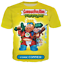Women-Men-Cartoon-Garbage-Pail-Kids-3D-Print-T-ShirtCasual-Short-Sleeve-Tops thumbnail 16