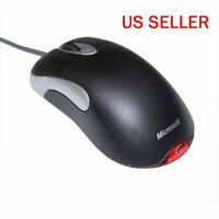 Microsoft Intellimouse Optical Mouse Usb Io 1.1 Mice Us Black Fait