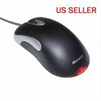 Microsoft Intellimouse Optical Mouse Usb Io 1.1 Mice Us Black Fait