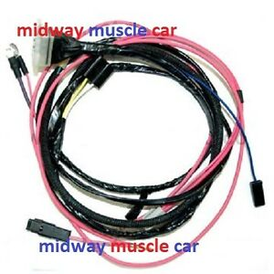engine wiring harness 63 64 65 66 chevy nova ii 283 327 396 hei rh ebay com