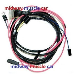 65 nova wiring harness engine wiring harness 63 64 65 66 chevy nova ii 283 327 ... #3