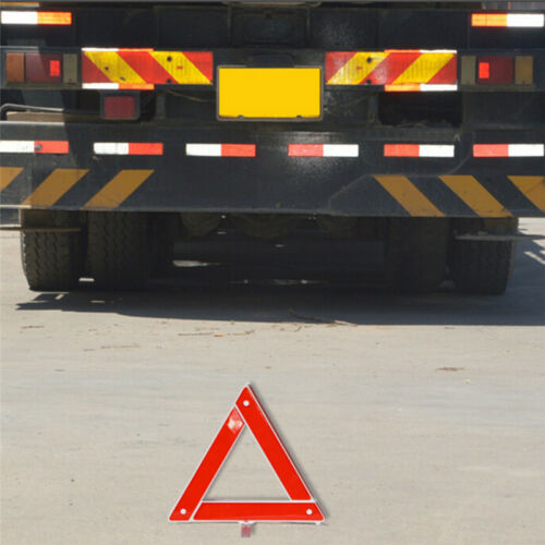 Reflective Warning Sign Foldable Triangle Car Hazard Breakdown EU Emergency new.