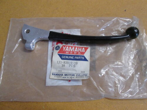 NOS Yamaha OEM Right Low Gloss Black Lever 1978 XS750 1978 XS500 1J3-83922-20