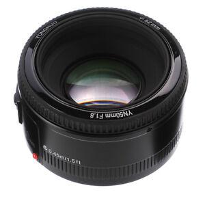 Yongnuo-YN50mm-F1-8-AF-MF-Prime-Lens-Autofokus-Objektiv-fr-Canon-EOS-EF-EF-S-SLR