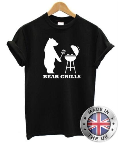 Funny Mens T-Shirt Bear Grills