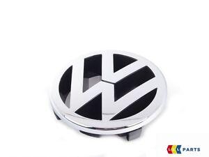 Caratteri originali VW Emblema griglia anteriore cromo Caddy Passat Touran 1t0853601e Ulm