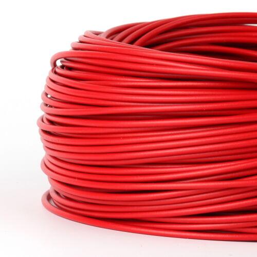 souple 100 mètres pvc aderleitung 1x1,5 mm² h07v-k rouge ña-F