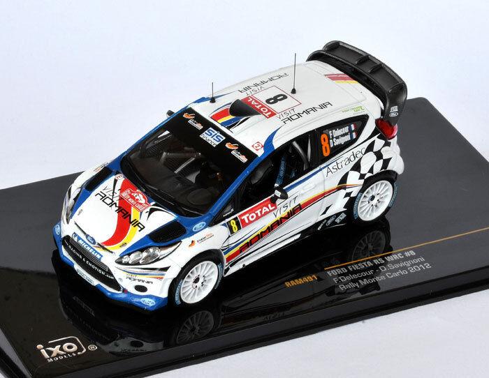 IXO Ford Fiesta RS WRC  8 Rally Monte Carlo 2012 Savignoni, Delecour RAM491 1 43