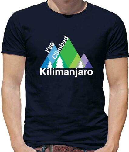 Climbing Mountain Ive Climbed Kilimanjaro Mens T-Shirt Mount Rock