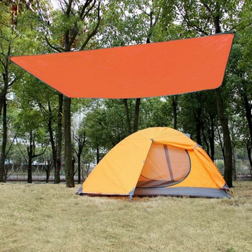 New Outdoor Camping Tent Tarp Shelter Hammock Cover Lightweight Waterproof Mat