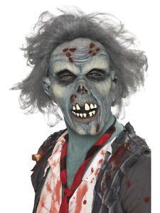 Masque Déguisement Zombie Adulte Cheveux Latex Décomposés Halloween qEaaBf