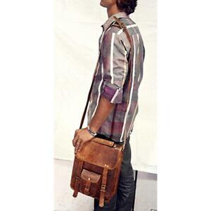 S-to-XL-Bags-Leather-Vintage-Brown-Soft-Messenger-Shoulder-Laptop-Bag-Briefcase