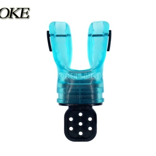 Scuba Diving Dive Moldable Silicone Bite Mouthpiece Regulator Snorkel Custom Fit