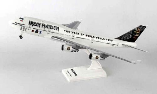 Iron Maiden boeing 747-400 1:200 avión modelo nuevo b747