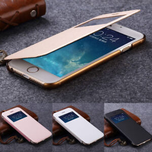 Luxury-PU-Leather-Ultra-thin-Flip-Case-Cover-For-Apple-iPhone-X-8-7-Plus-5-6s-5c