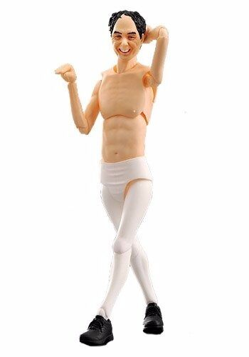Figma EX-013 Egashira 2 50 White Tights ver. Figure FREEing NEW from Japan