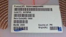 100pcs AVX 1206 0.1uF//50V X7R 20/% 12065C104MAT2A