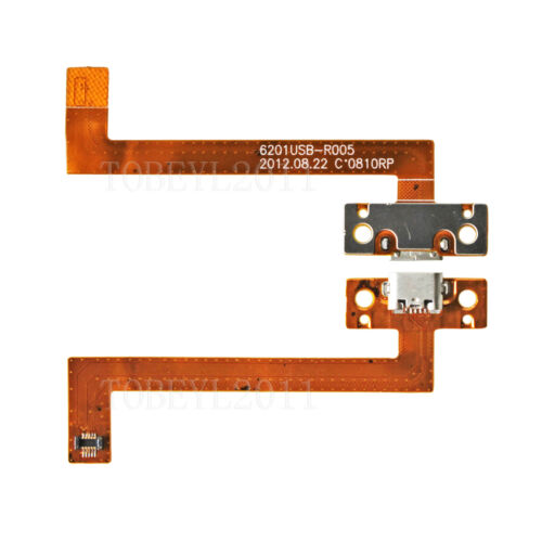 Micro USB Charging Port DC Power Jack Ribbon Flex Cable For Kobo Arc K107 7/""