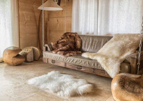 Sheep Skin Natürlich Lammfell Schaffell Sheepskin Öko Teppich 100-140cm