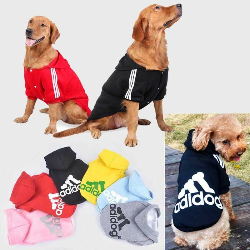Small Large Pet Dog Cat Jacket Coat Clothes Hoodie Sweater Costumes S M L XL 9XL