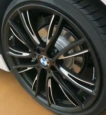 """BMW OEM F30 F32 F33 F36 3 & 4 Series Style 624 20"""" Matt Black Performance Rims"""