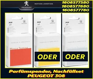 Original PEUGEOT Parfümspender, Duftspender, Nachfüller für PEUGEOT 308