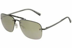 John-Varvatos-Men-039-s-V511-V-511-Gunmetal-Fashion-Pilot-Sunglasses-60mm