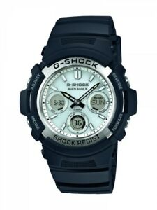Casio-G-Shock-Herrenuhr-Uhr-Funk-Solar-Funkuhr-20-Bar-AWG-M100S-7AER
