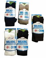 Thorlo Wx Walking Socks 3 Pair Black Crew Mens / Womens All Sizes