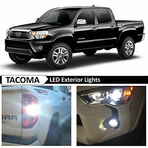 Image Is Loading 09 15 Toyota Tacoma White Exterior Fog Backup