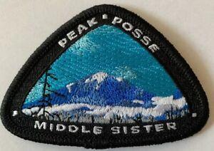 New Middle Sister Mountain Peak Oregon Souvenir Keepsake Sew On Patch