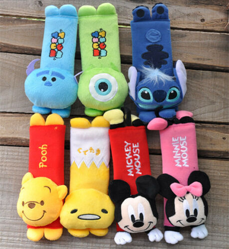 LOVELY mickey mouse safety belt cover decoration AQ03  Christmas gift