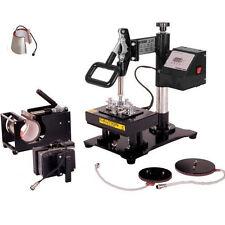 15X20CM 6 IN 1 Interchangeable Combo Heat Press Sublimation Transfer Machine