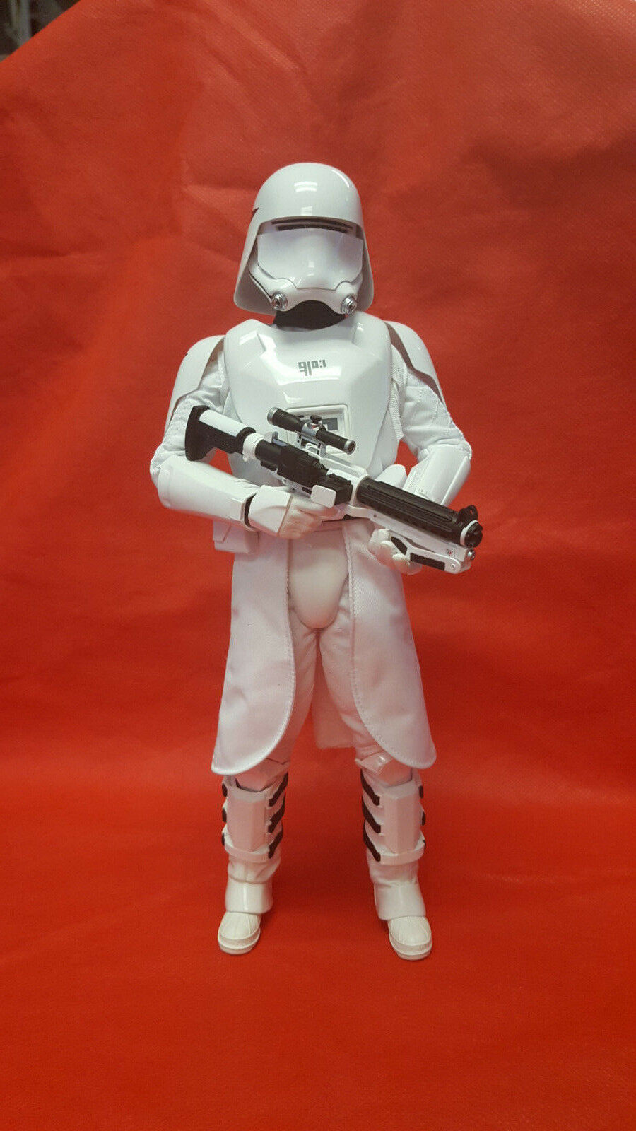 1 6 Hot Toys MMS First Order Snow trooper SNOWTROOPER ONLY JC