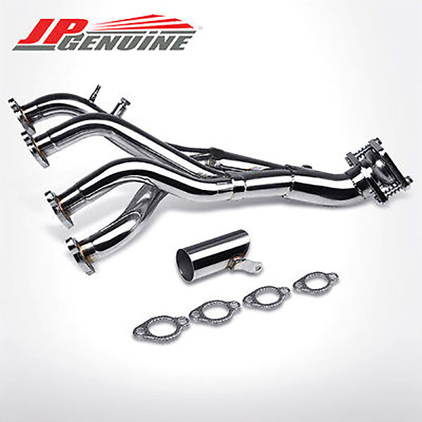 STAINLESS MANIFOLD EXHAUST HEADER - CABRIO/CABRIOLET/JETTA/GOLF 1.8/2.0L 8V 4CYL