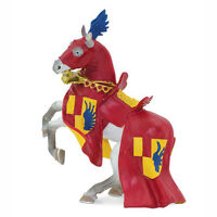 Horse With Red Robe And Blue Wings Figure Safari Toys Educational