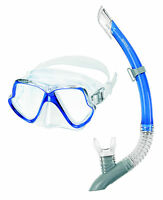 Mares Zephyr Snorkel set Diving mask with snorkel Blue for your vacation
