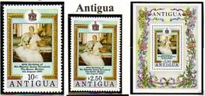 Stamps Barbuda 1980 Queen Mother 80th Birthday Ms Mnh Um Unmounted Mint Never Hinged