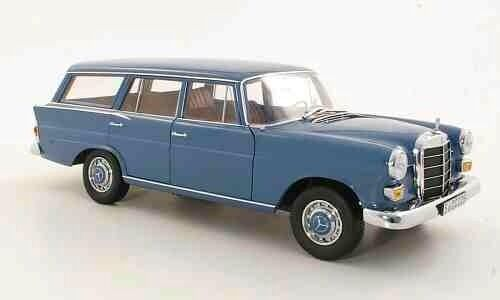 NOREV MERCEDES BENZ 200 Estate Wagon euro couleur bleue 1 18 RARE DEALER