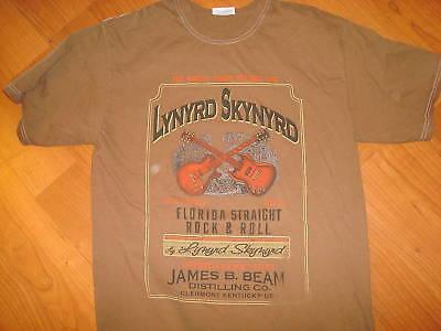 LYNYRD SKYNYRD DISTRESSED BEAM  VINTAGE  shirt Sz YOUTH -  MEDIUM