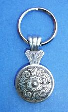 Western Cowboy Jewelry Antique Silver ~Old West~ Design Concho Key Ring Kit