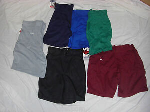 WILSON-A4481-COACHES-ATHLETIC-SHORTS-VARIOUS-COLORS-AND-SIZES
