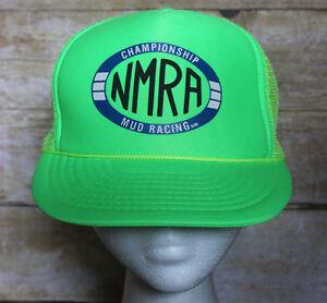 8227bc621e9 Image is loading 90s-Vintage-NMRA-Mud-Racing-Championship-Trucker-Hat-
