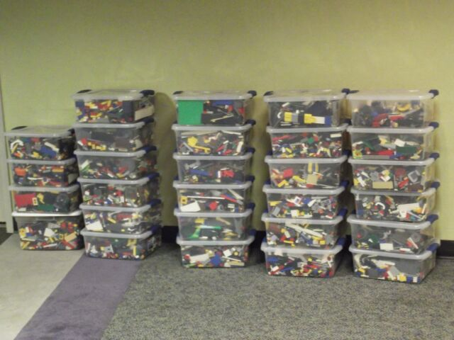 100 PIECES OF USED RANDOM LEGO MIXED LOT