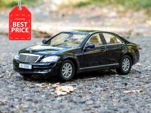 Mercedes-Benz-S500-W221-S-Class-Black-2006-Year-1-43-Scale-Diecast-Model-Car