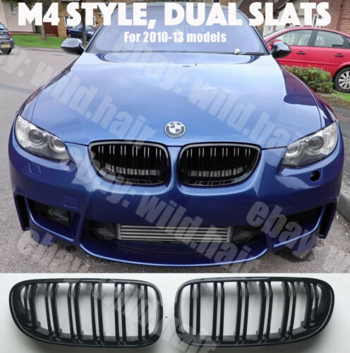 e93 Coupe//Convertible,M4 Stile Griglia,Nero Lucido,Doppio LCI BMW e92 2010