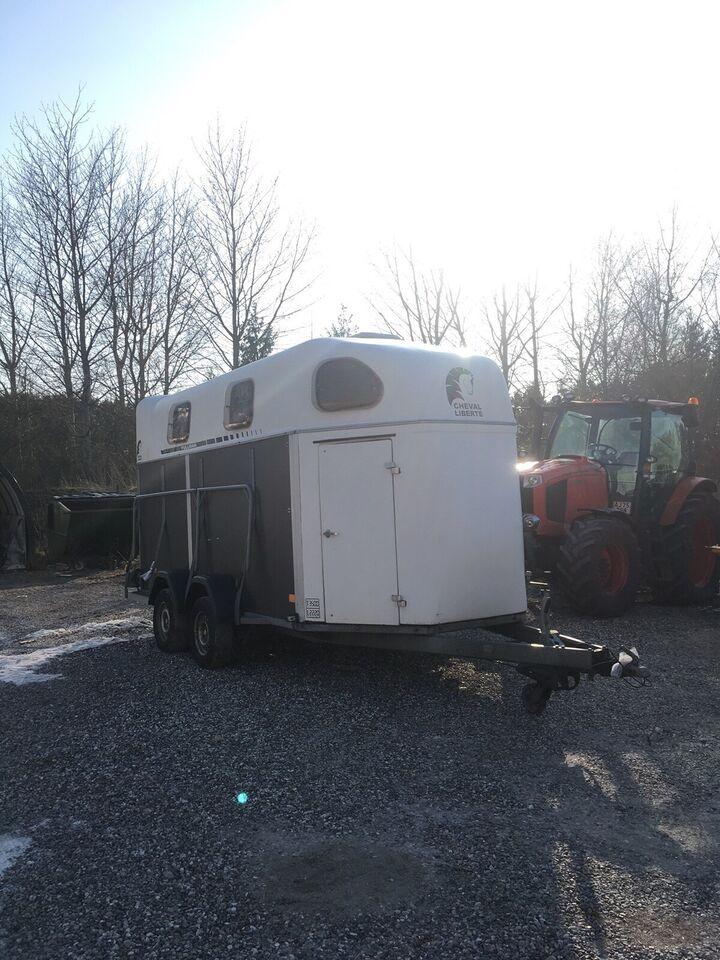 Hestetrailer, Cheval Liberte 4004, lastevne (kg): 2200