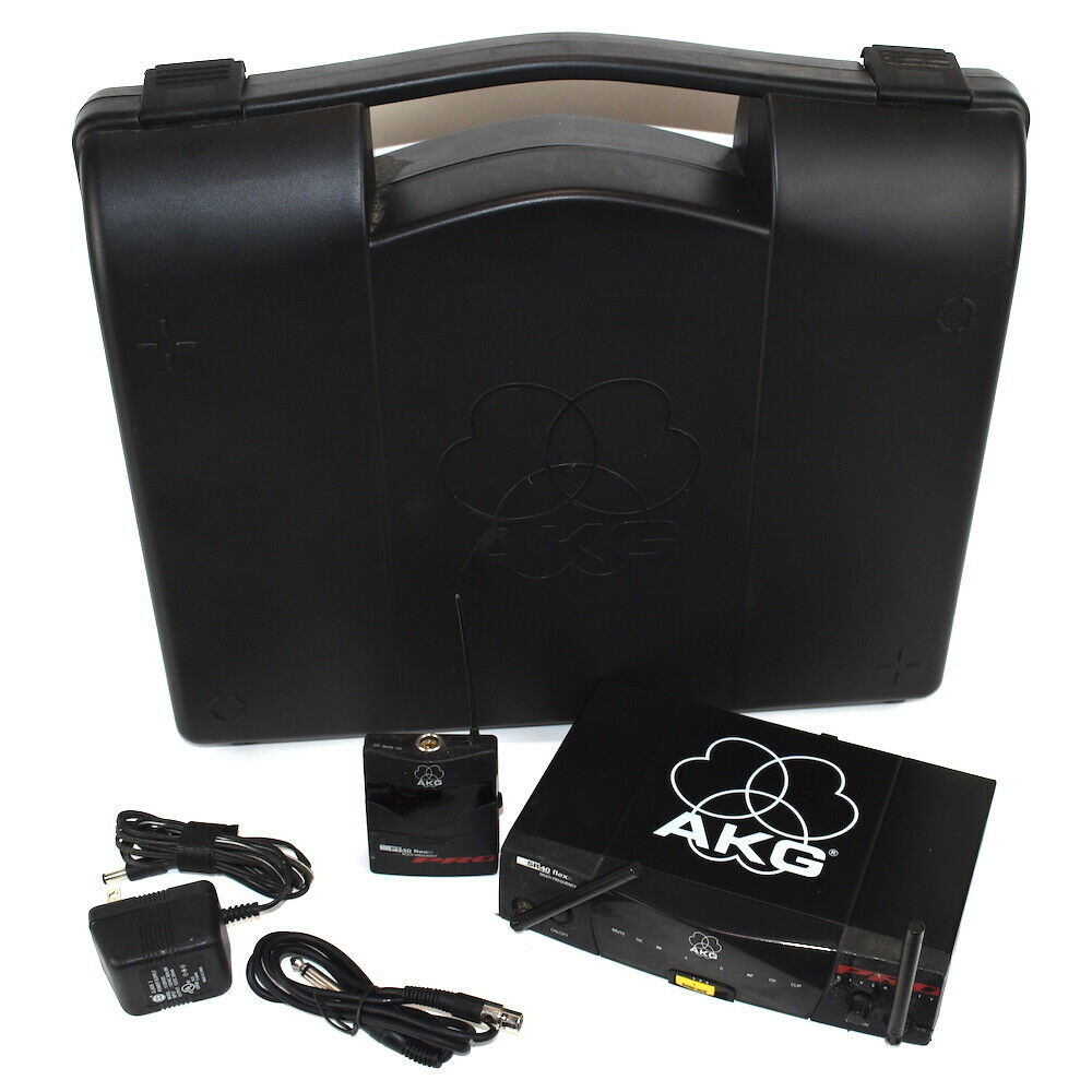 AKG SR 40 Flexx Multi Frequency Pro Diversity Receiver With AC Adapter