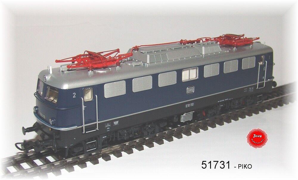 Piko 51731 e-Lok br e 10 de la DB corriente alterna versión  neu en OVP